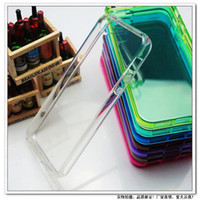 For Apple iPhone TPU Blue High Quality Crystal Clear Soft TPU case cover for iphone 4 4s 5 5S se 5C 6 6S 6 plus 7 7 plus Galaxy S3 S4 S5 s6 s7 200pcs