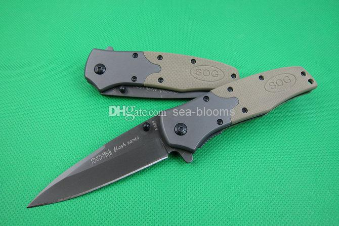 Sog Fatcat Fa02 Folding Knife Pocket Knife Military Knife