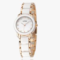 Wholesale Eyki Kimio Watches - Brand Eyki Kimio 2013 Ladies Ceramic Luxury Bracelet Watches with Ceramic fine steel strap ,Free shipping