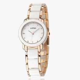 Wholesale Eyki Ladies - Brand Eyki Kimio 2013 Ladies Ceramic Luxury Bracelet Watches with Ceramic fine steel strap ,Free shipping