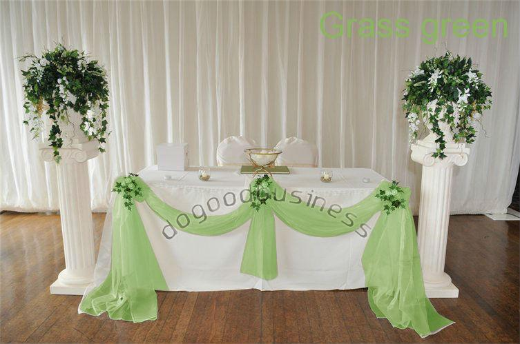 Wedding Top Table Decoration Diy Kit Swags Balloons Bows All Colours By Hongkong Post Air Birthday Party Express Favor From Dmax1685