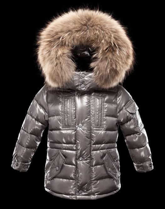Designer Children Down Coats Fur Collar Hooded Down Coats Super ...