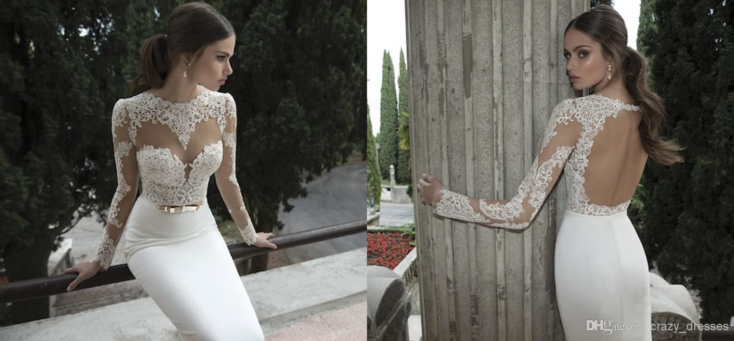 Wholesale Wedding Gowns In Usa: 2015 A Line Wedding Dresses Lace Applique Custom Made Sexy