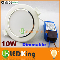 10W ha condotto Downlight dimmerabile luci ad incasso a soffitto AC100V-250V ha condotto i downlights CE RoHS SAA l'Australia Popolare