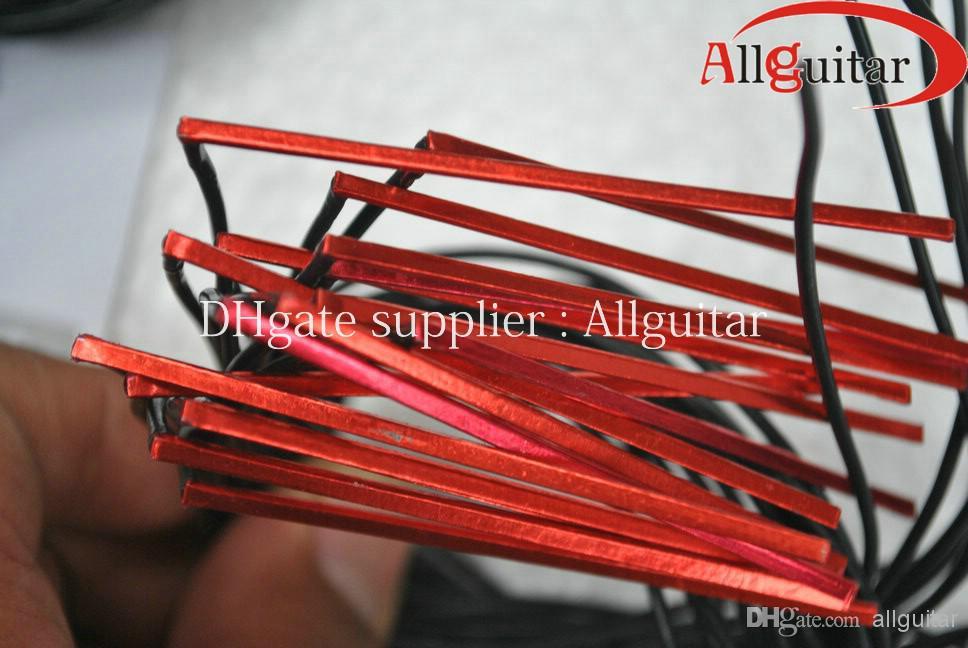 Fishman UNDER SADDLE Pick-up PIEZO rouge pour matrice acoustique Fishman Natural Narrow