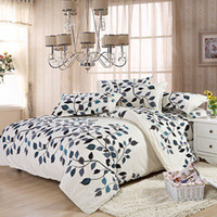 Wholesale King Duvet Cover Cotton Green - Home Textile,4Pcs of Bedding sets luxury include Duvet Cover Bed sheet Pillowcase,King Queen Full size,Free shipping