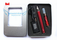 Wholesale Ego Cigs Sets - Ego t kits Electronic Cigarette E-Cigs EGO CE4+ 650mah 900mah 1100mah with CE4+ t3sl Atomizer with Retail Box amazestore DHL free 20pcs