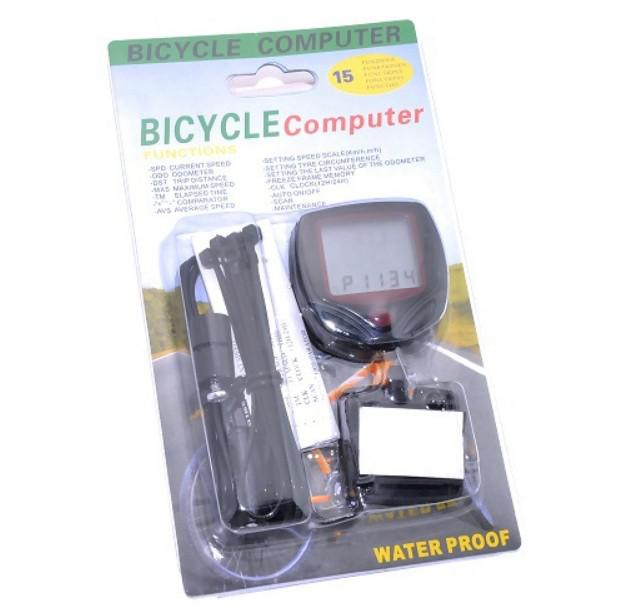 Factory Multifunctional Waterproof LCD Display Cycling Computer Bike Wheel Odometer Bicycle Speedometer