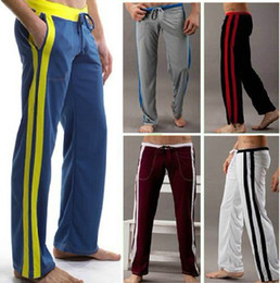 baggy jersey pants Canada - pants men sports casual running jogging active Men's trousers training soccer Baggy loose desinger brand yoga gym Hot selling
