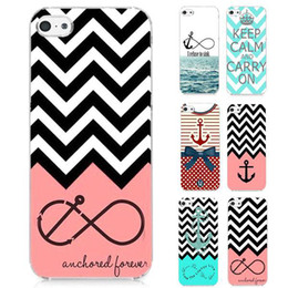 Wholesale Anchor Iphone Cases - S5Q Anchor Hard Phone Case Cover Back Skin Protector For Apple iPhone 4 4S AAACMN