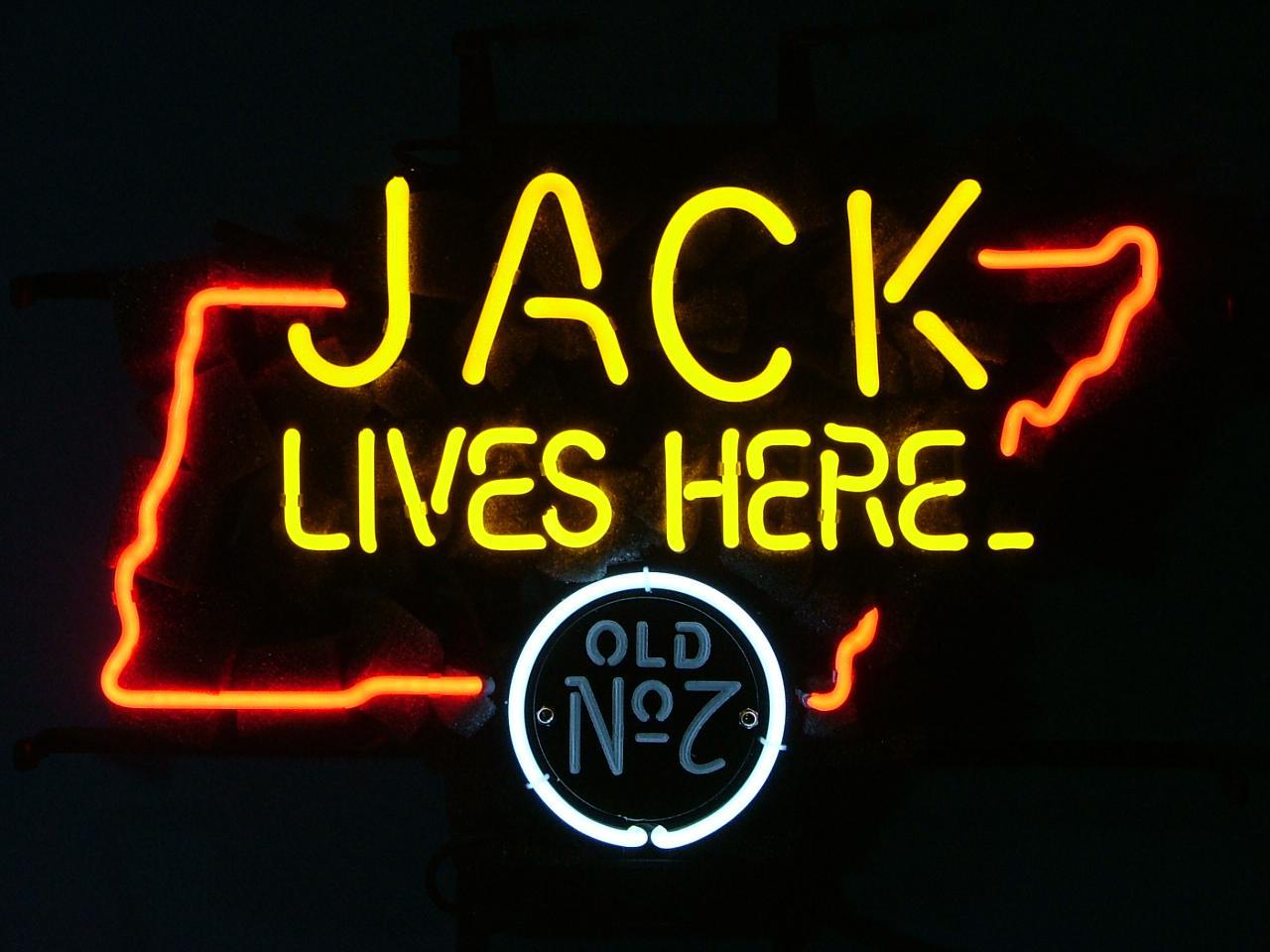 2020 JACK DANIELS JACK LIVES HERE TENNESSEE BEER BAR PUB
