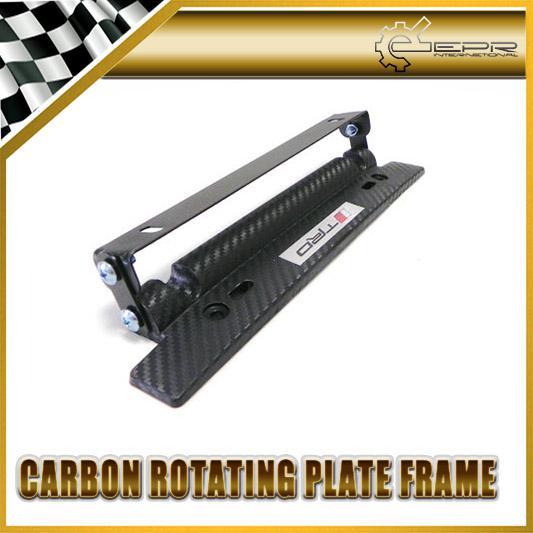 2018 Trd Imitation Carbon Fiber Adjustable License Plate Holder For Toyota  Alphard Corolla Supra Ft86 Gt86 From Epr_int, $14.79 | Dhgate.Com