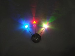 Wholesale 5mm Rgb Diode - 5mm RGB 7 color fast flash LED light-emitting diode (LED) New products and ROHS