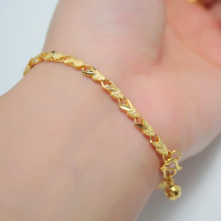 Popularity Explosion Models Full Three Gold Plated Bracelet Package ...