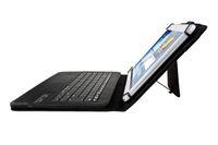 onglet clavier pouce achat en gros de-Housse en cuir PU amovible sans fil Bluetooth clavier pour 7 8 9 10 pouces iPad Windows Surface Android Tablet PC Galaxy Tab Holder Universal
