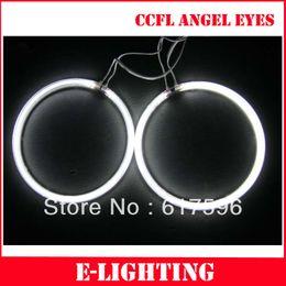 Anneaux ccfl en Ligne-Angle universel CCFL Angel Halo phare 4XFull Anneau circulaire 72MM / 76MM / 80MM / 85MM / 90MM / 94M / 100MM / 106MM / 120MM avec inverseur 2X CCFL