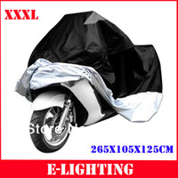 Wholesale Dust Cover Bike - XXXL 265*105*125 cm Motorcycle Bike Dust Storage Cover For Harley Road King Electra Road Glide Touringg