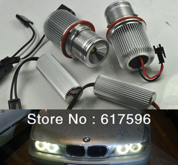 2X 10W Cree LED Marker Angel Eyes Kit Anello Halo bianco per BMW E39 E60 M5 525i, 525xi, 530i, 530xi, 545i, 550i LED Angel Eyes