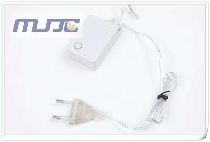 10 Mt 100 LEDs LED Lichterketten 110 V 220 V AC Klar Chirstmas Weihnachtsbeleuchtung für dekoration mit 8 Funktionen Controller