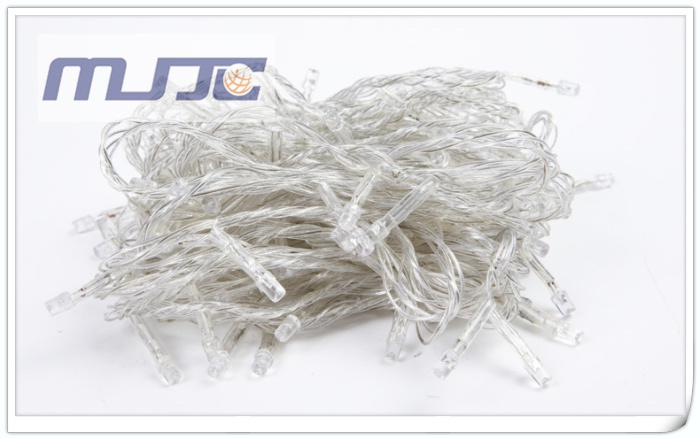 10M 100 LEDs LED String Lights 110V 220V AC Clear Chirstmas Holiday Lights for decoration with 8 Functions Controller