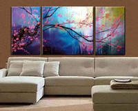 Wholesale cheap with Framed Handmade Modern Art Abstract Oil Painting On Canvas
