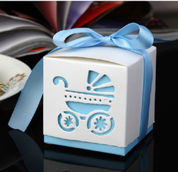 Wholesale Empty Gift Boxes - 6*6*6cm European Wedding Favor Gift Box Color Empty Candy Boxes Party Supplies 50pcs lot CK047