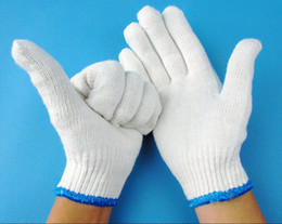 Wholesale Good For Export - Send free fedex - 1000 PCS thread cotton gloves labor insurance gloves gloves work gloves gloves high-quality goods for export