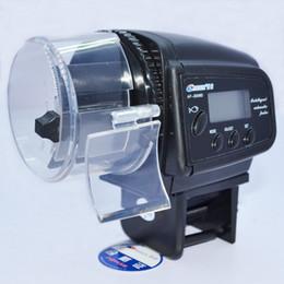 Argentina Al por mayor - AF-2009D Digital automático de peces de acuario Alimentador de mascotas Alimentación Alimentador de tiempo Alimentador automático de alimentos de pescado Alimentador de tanque automático de peces af-2009d Suministro