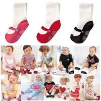 Wholesale Newborn Ankle Socks - Baby Ankle socks Baby Boat socks Anti-slip Socks Newborn training socks Wholesale YFF