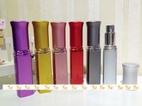 Wholesale Eau Parfum Perfume - New Designs 6ML Empty Perfume Bottle Glass Vial Small Jars for Eau De Parfum 10pcs lot ZH1256