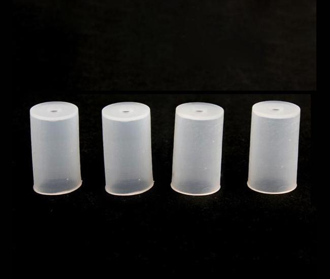 Atomizador caps teste ponta de gotejamento Teste Buraco Dicas E Fumante teste booster ce4 capa de silicone para CE4 ce5 vivi nova T2 clearomizer
