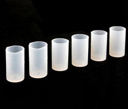 Wholesale Soft Drip Tip - EGO Atomizer Caps Silicon Cover Testing Drip Tip Dustproof Soft Mouthpiece for CE4 CE5 CE6 T2 MT3 VIVI NOVA Clearomizer test drip tips