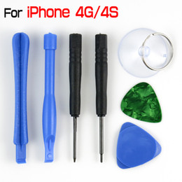 Wholesale Iphone4 Tools - For iPhone 4 4S 4G Repair Tool Kit For iPhone4 iPhone4S Opening Tools 7 in 1
