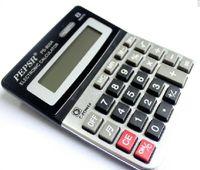 ücretsiz hesap makinesi toptan satış-Öğrenci Hediyeler için ucuz ve Dayanıklı Elektronik Hesap Ofis Malzemeleri (dahili pil) sizin için Ücretsiz Nakliye