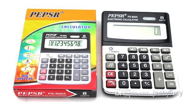 Calculadoras eletrônicas baratos e duráveis para estudantes presentes material de escritório bateria interna frete grátis para você