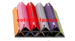 Wholesale Smart Cover Table Holder - Smart Cover PU Leather Case Cover Sleep work with Stand Holder Protection Table PC For ipad Air ipad 2 3 4