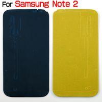 pegamento galaxy s5 al por mayor-Pegamento adhesivo precortado para Samsung Galaxy S2 I9100 S3 I9300 S4 I9500 S5 I9600 Nota 1 Nota 2 N7100 Note 3 Carcasa frontal N9000 S3 Mini S4 Mini