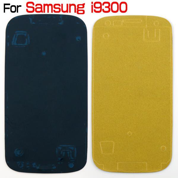 Pegamento adhesivo precortado para Samsung Galaxy S2 I9100 S3 I9300 S4 I9500 S5 I9600 Nota 1 Nota 2 N7100 Note 3 Carcasa frontal N9000 S3 Mini S4 Mini