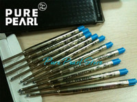 Wholesale Sales Ballpoint Pens - 10 Pieces MB High Quality Blue Ink Ballpoint Pen Refill Hot Sale