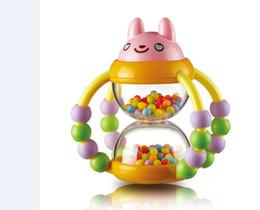 tipos de brinquedos para bebês 12 meses Desconto O ENVIO GRATUITO de cestas De Flores de areia Chocalho Do Bebê Quebra-cabeça brinquedos educativos de 0 a 2 anos de idade Sinos de Mão do bebê, brinquedos Do Bebê, presentes da criança Do Bebê