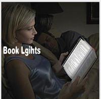 gece ışık plakası açtı toptan satış-Yenilik LED Okuma Kitap Işıkları Protable Düz Plaka Lightwedge Gece Lambası Göz koruma Lambası Araba Yatak Odası için