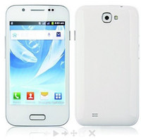 Wholesale Dual Band Tv Cell Phone - Wholesale - MTK6515 A7100 N7100 Android 4.0 phone Dual Core Dual Sim Quad Band WIFI Bluetooth 4 inch Cell Phone