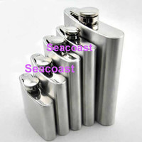 Wholesale Wholesale Liquor Prices - Lowest Price Stainless Steel Hip Liquor Whiskey Alcohol Flask Cap 4 5 6 8 10 18 oz + Funnel #2458
