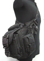 Wholesale Utility Canvas Bags - Tactical Utility Shoulder Pack Carrier Bag Pouch BK 4058 free ship