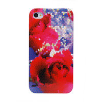 Wholesale Cheap Free Shipping Worldwide - Free Shipping Worldwide Cheap Price Wholesale Shinning Coated Water Transfer Case for iPhone 4s