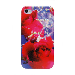 Wholesale Iphone 4s Cases Wholesale Cheap - Free Shipping Worldwide Cheap Price Wholesale Shinning Coated Water Transfer Case for iPhone 4s
