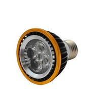 ampoule 5x3w achat en gros de-E27 GU10 E14 B22 MR16 Par20 5x3w 15w 5LEDS par 20 led lampe Spotlight 85V-265V Led ampoules allumant chaud blanc froid