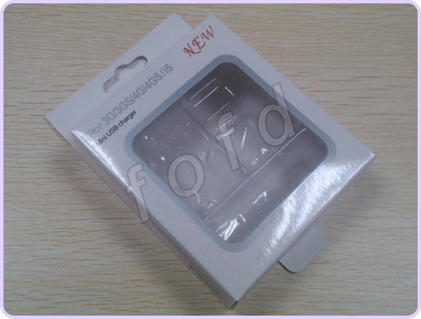 Hot sale 3in1 retail box 3 in 1 retail package for iphone for iphone 4 5 cable & car/wall charger 100pcs/lot