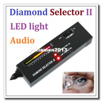 Wholesale Tester Tool - High quality Portable Diamond Selector II Moissanite Gemstone Tester Tool Dropshipping