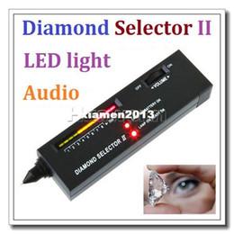 venda por atacado Alta Qualidade Portátil Diamante Selector II Moissanite Gemstone Ferramenta Dropshipping